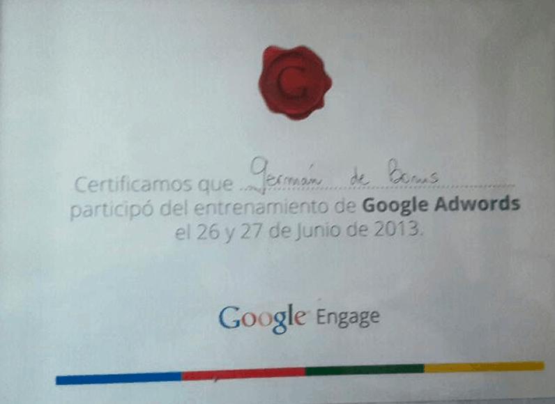 Certificaciones 15