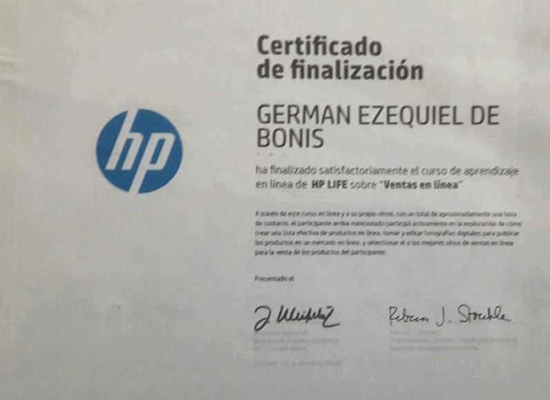 Certificaciones 17