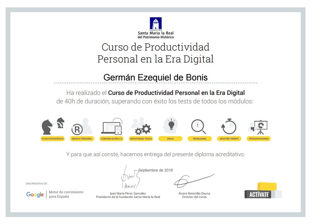 Certificaciones 19