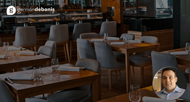 mobiliario de un restaurante