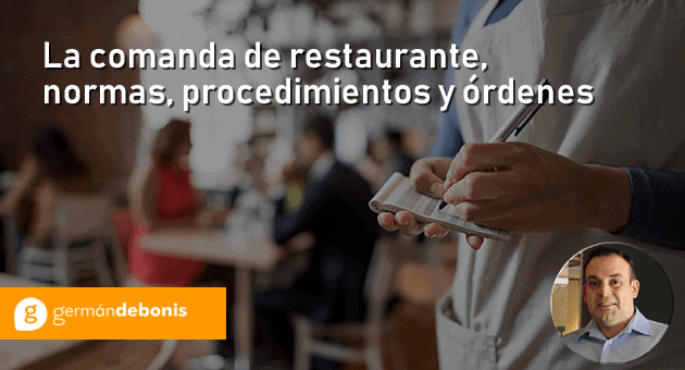 comanda de restaurante