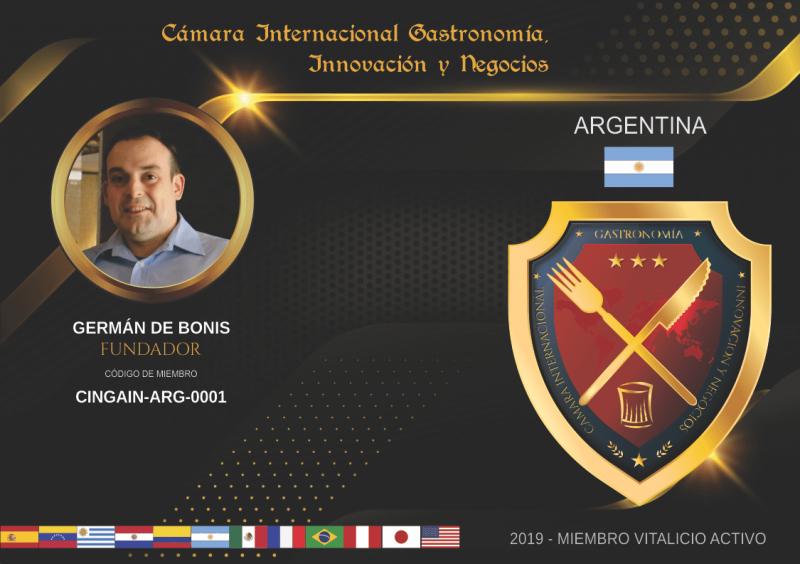 Cámara Internacional Gastronomía, Innovación y Negocios