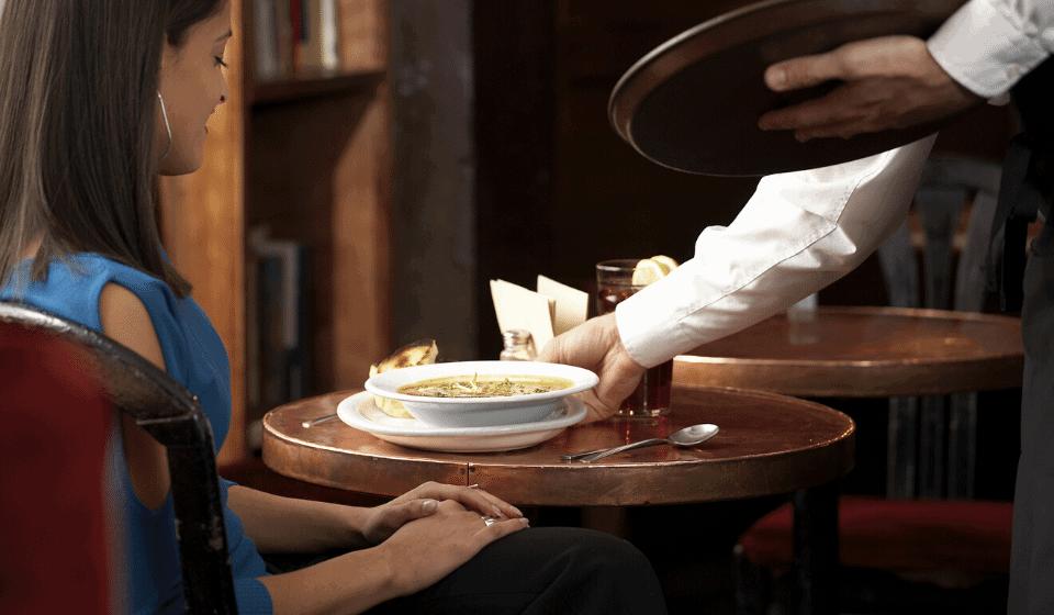 El servicio de mesa