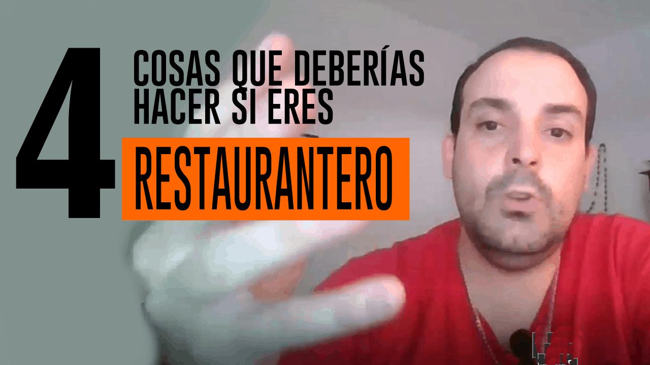 cosas que deberías hacer si sos restaurantero