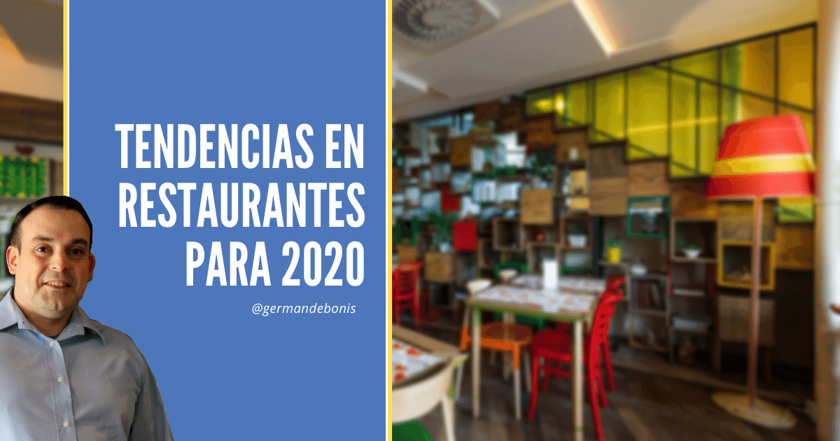 tendencias en restaurantes