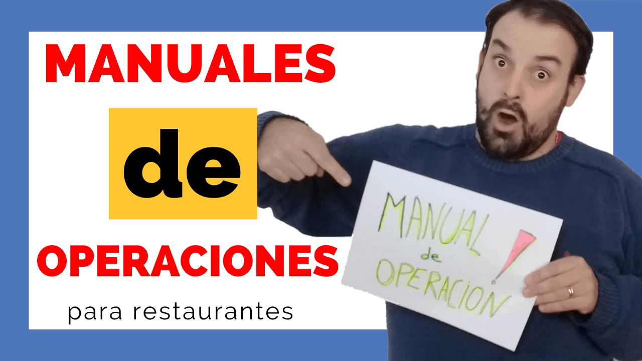 manuales para restaurantes