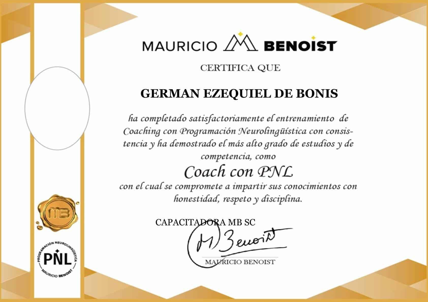 Certificaciones 1